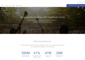 Facebook Events management for coworking spaces