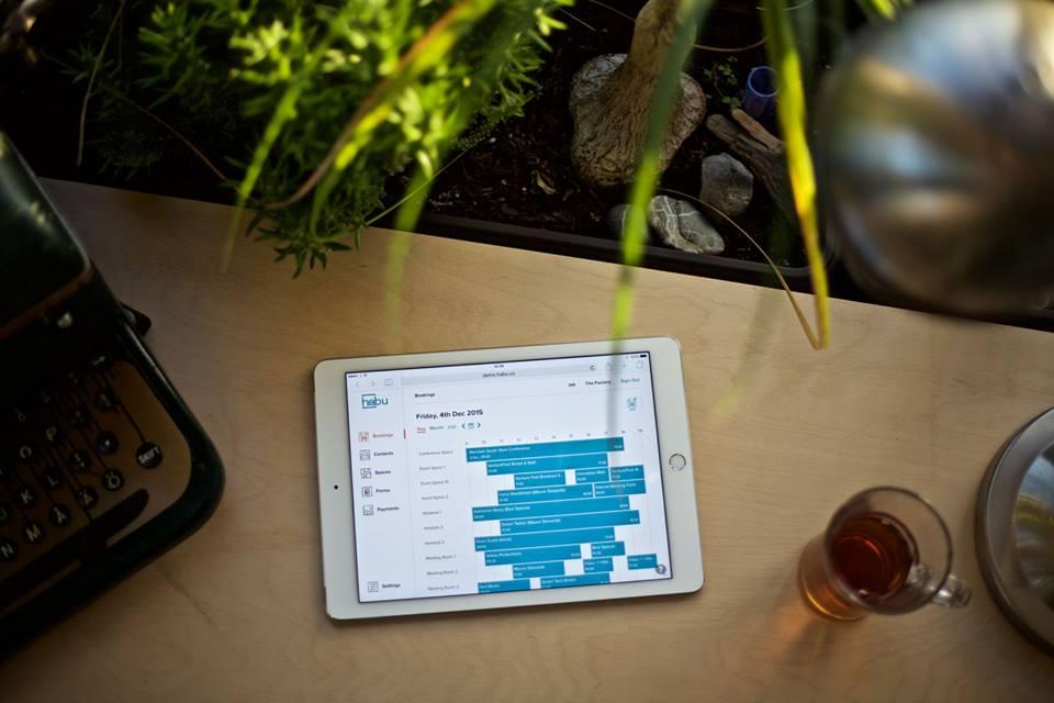 habu coworking software